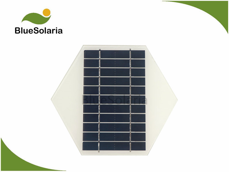 5.5V 1.5W Hexagonal Shape Solar Panel