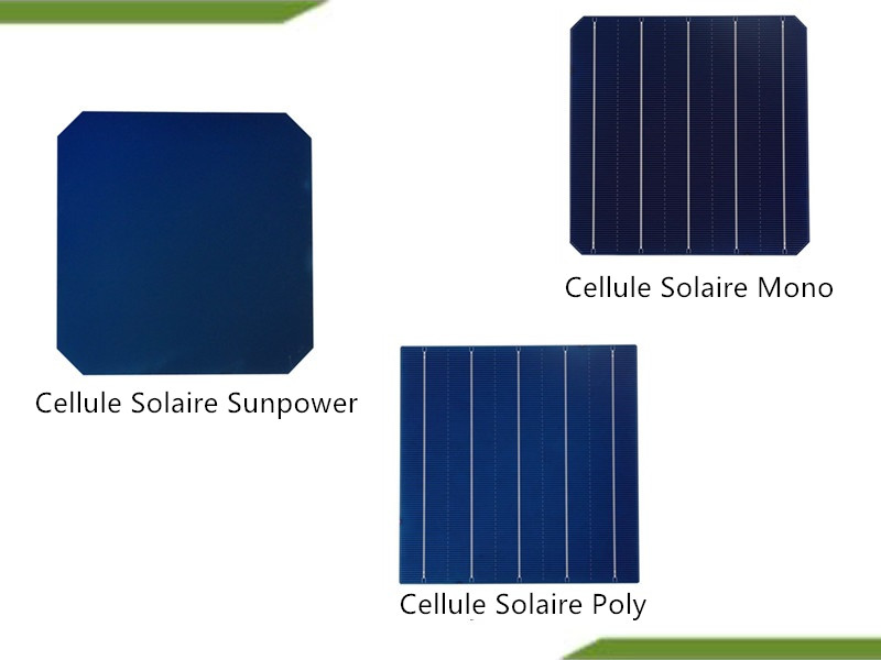 Solar Cell Type Comparison
