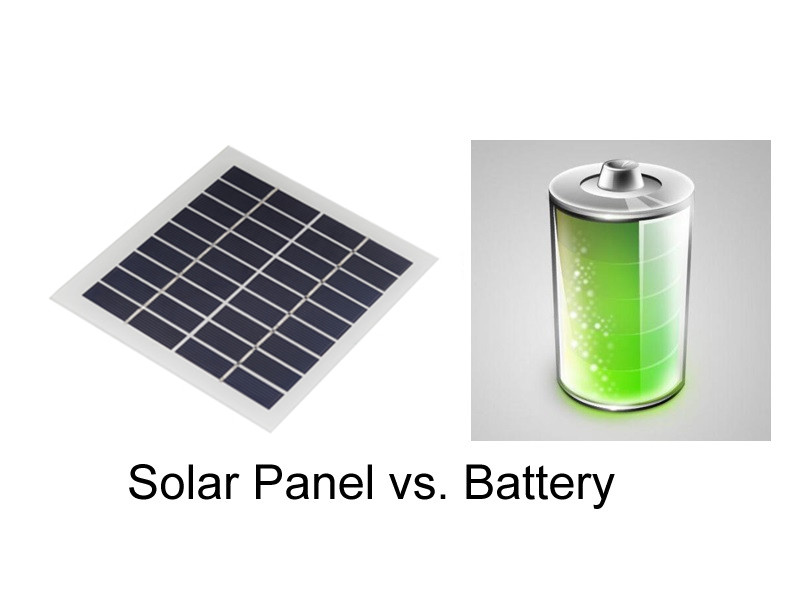 Solar Panel Voltage vs. Battery Voltage